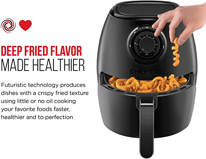 Chefman TurboFry 3.6 Quart Air Fryer product image 3