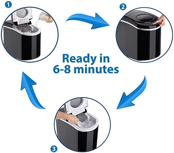 SOLTRONICS SOLTRONICS Portable Ice Maker 28LBS/24H product image 5