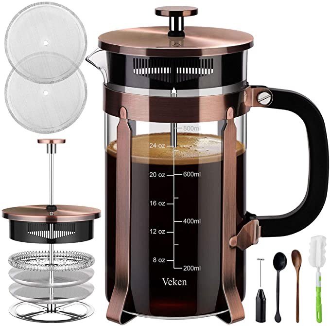 Veken french press coffee maker product image 8