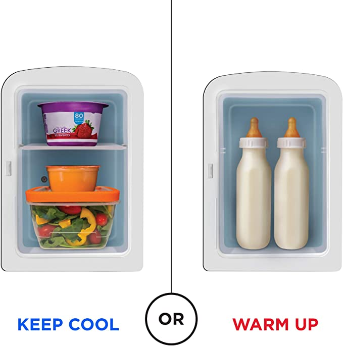 Chefman Portable Mirrored Personal Fridge, product image 5