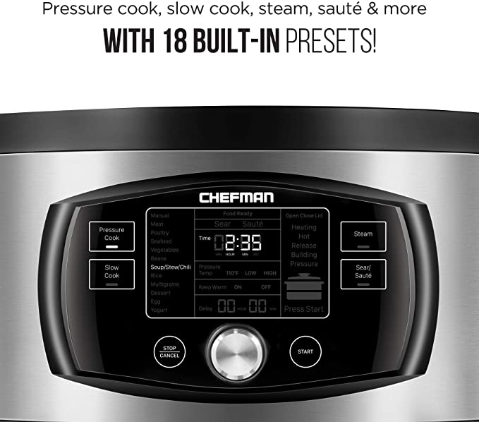 Chefman Multi-Function Oval Pressure product image 9