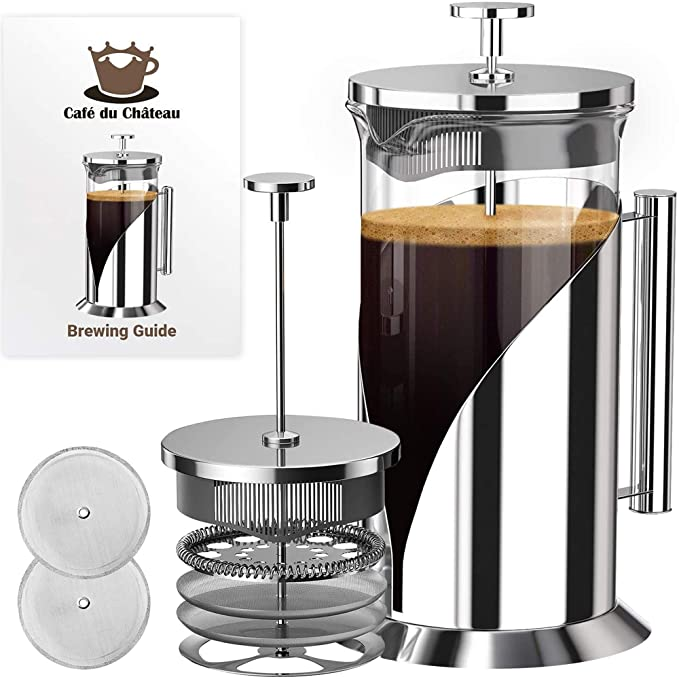 Cafe Du Chateau French Press Coffee Maker product image 9