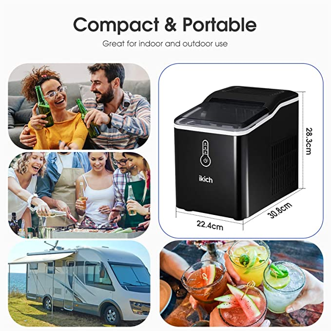 IKICH Ice Maker for Countertop, product image 4