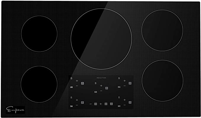 """Empava 36"""" Electric Stove Induction Cooktop product image 11"""